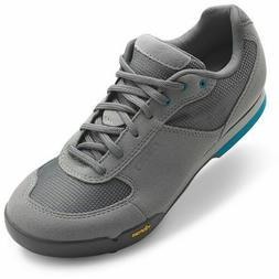 Giro Women's Petra VR MTB Shoes Titanium/Blue Jewel 42EUR/12