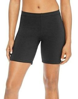 Hanes Women's Stretch Jersey Bike Workout Shorts - Black or