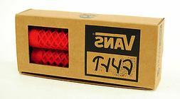 Cult X Vans Flangeless Grips w/ End Plugs Waffle Pattern BMX