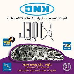 KMC X10EL Extra Light Cycling Chain Silver