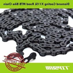 TIPSUM X11SL Diamond Coating DLC 11 Speed Bike Chain Shimano