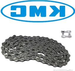 KMC X8.93 Chains w/ Missing Link, Bag of 5, 6-8 Speed, Silve