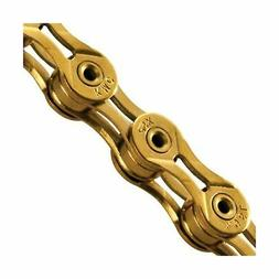 KMC X9SL Chain Ti & Gold 9Speed 116Links NEW