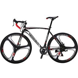 EUROBIKE XC550 21 Speed 54 Cm Frame Road Bike 700C 3-Spoke W