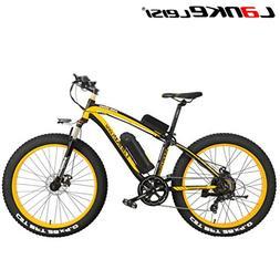 LANKELEISI XF4000 Snow Bike Fat Tires Mountain Bicycle Motor