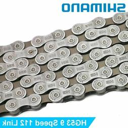 Shimano CN-HG53 9 Speed Deore Tiagra Hyperglide MTB Chain 11