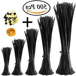 Kool-Stop 675 Zip Ties Black 100//Bg