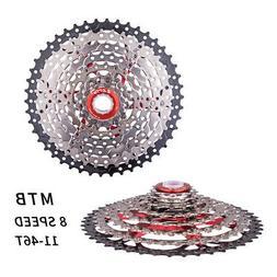 ZTTO 11-46T 8 Speed Bicycle Cassette MTB Bike Freewheel Flyw